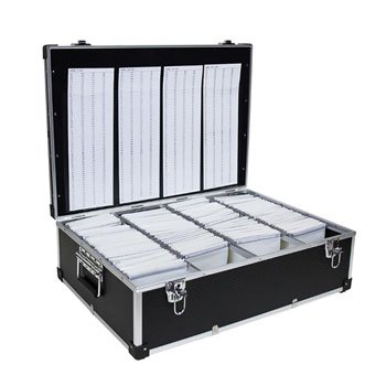 Black Aluminium DJ 1000 Carry Case