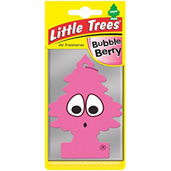 2D Little Trees Car Air Freshner Bubble Berry
