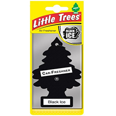 2D Little Trees Car Air Freshner Black Ice