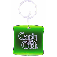 3D Candy Crush Delicious Apple Car Air Freshner