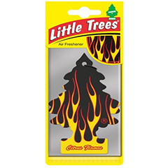 2D Little Trees Car Air Freshner Citrus Flames