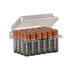 Duracell  AA  Alkaline Basic Batteries - 24 Pack