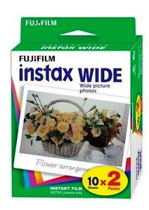 FujiFilm Instax Wide Colour Photos