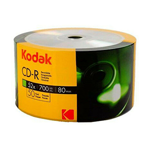 Kodak CD-R80 (52x) - 50 Shrink Wrap