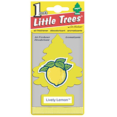 2D Little Trees Car Air Freshner Lively Lemon
