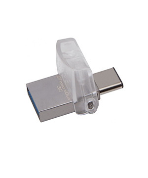 Kingston 64GB DataTraveler Micro Duo 3C USB 3.1