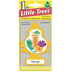 2D Little Trees Car Air Freshner Mango