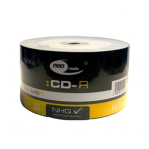 Neo CD-R80 (52x) - 50 Shrink Wrap