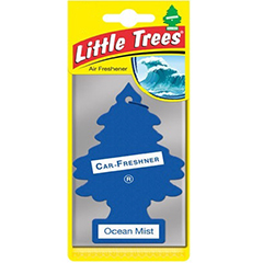 2D Little Trees Car Air Freshner Ocean Mist