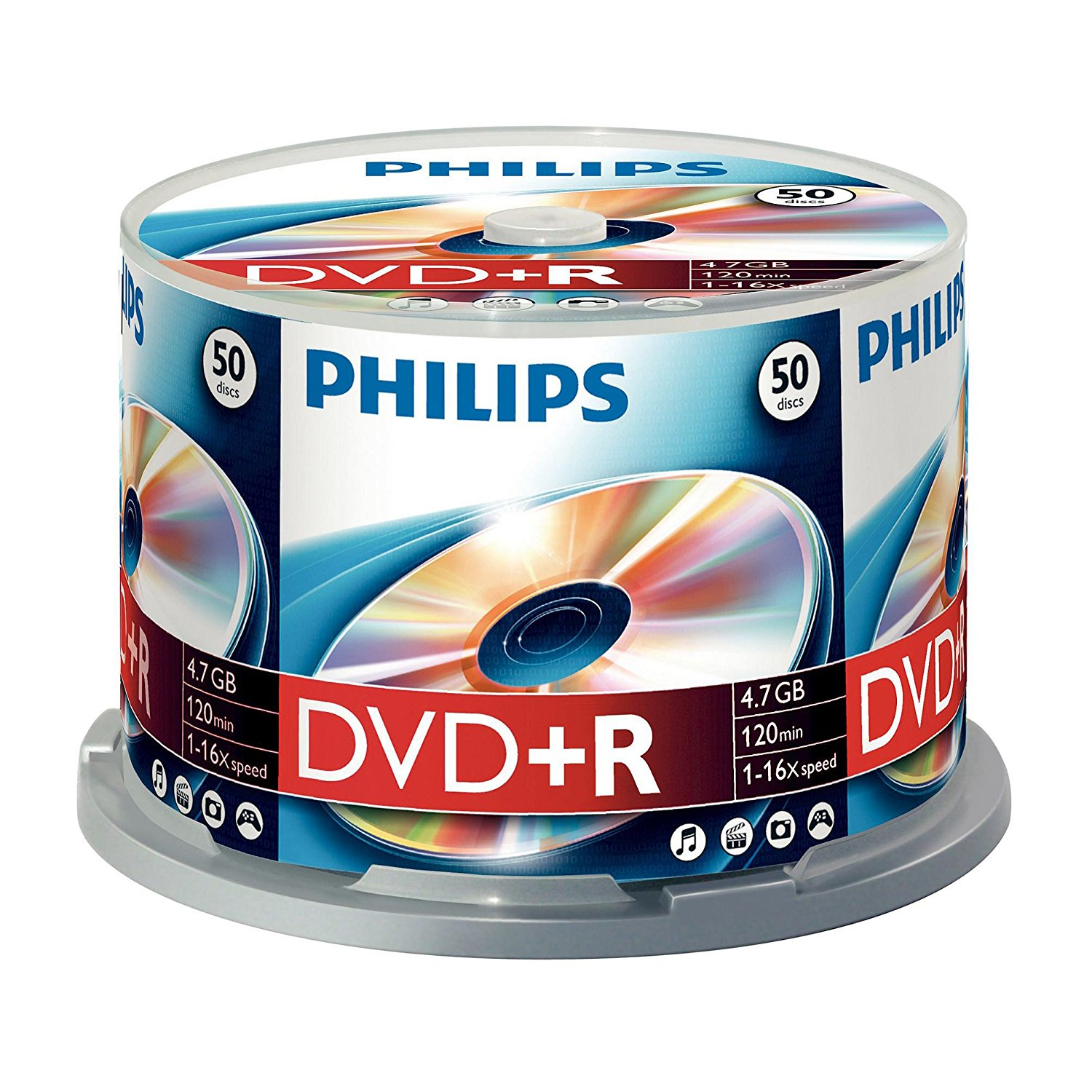 Philips DVD+R (16x) 50 spindle