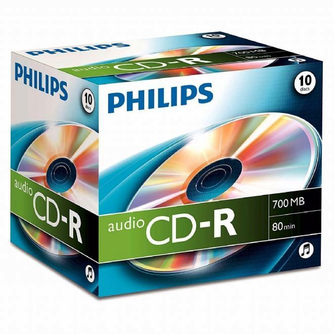 Philips Digital Audio CD-R80 -Pack 10