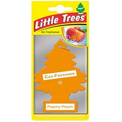 2D Little Trees Car Air Freshner Peachy Peach