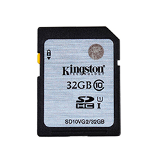 Kingston SDHC 32GB Class 10 UHS-I SDHC