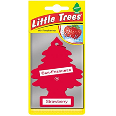 2D Little Trees Car Air Freshner Strawberry
