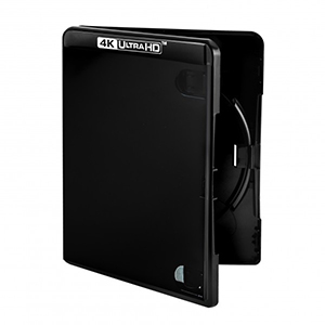 Amaray Black 4K Blu-ray Case 14mm