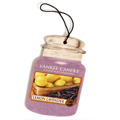 2D Yankee Candle Car Air Freshner Lemon Lavender