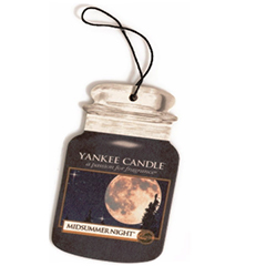 2D Yankee Candle Car Air Freshner Midsummer Night
