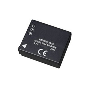 Panasonic CGR-S007 Lithium Camera Battery Replacement