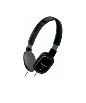RP-HX40 Light Weight Headphones-Black