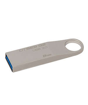Kingston 8GB USB 3.0 Data Traveler SE9 (Metal Casing)