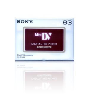 Sony HDV 63 Digital Video Tape (5 Pack)