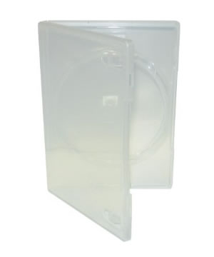 DVD Case - Amaray Premium - Clear Single