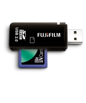 Fuji USB Card reader for SD Cards