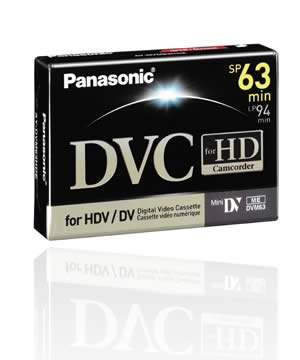 Panasonic HD Dv 63min