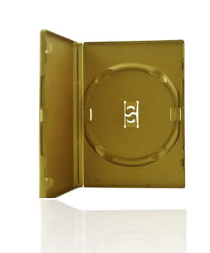 DVD Case - Amaray Premium - Gold Single