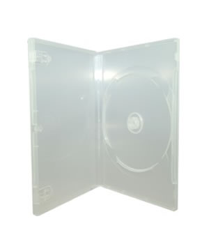 DVD Case - Clear Holds 1 Disc with M-Lock Mechanism  (14mm)