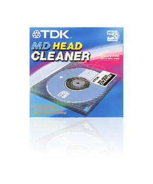 TDK Minidisc Head Cleaner