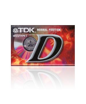 TDK D90 Audio Cassette Tape