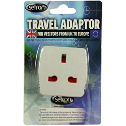 Travel Adaptor UK to Europe