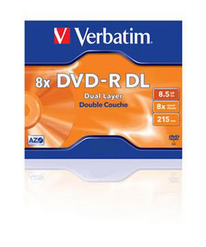 Verbatim DVD-R 8.5Gb Dual Layer (8x) - Single Price