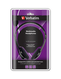 Multimedia Headphones With 3.5mm Jack Line In & Line Out